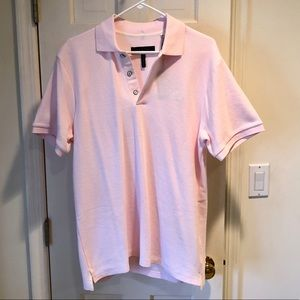 Rag & Bone Men's Short Sleeve Polo Shirt